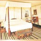 Vintage Washington's Bedroom Mount Vernon Virginia Postcard