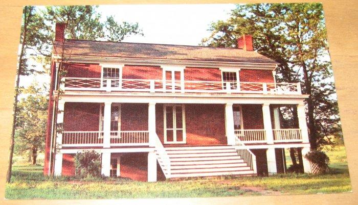 Vintage McLean House Appomattox Court House Virginia Postcard