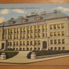 Vintage Central Classical High School Building Manchester New Hamphshire Postcard
