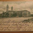 Vintage Carnegie Library Schenley Park Pittsburgh PA Postcard