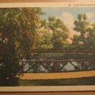 Vintage Blue Hole Castalia Ohio Postcard