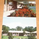 Vintage Smitty's Rock & Wood Motel Belchertown Massachusetts Postcard