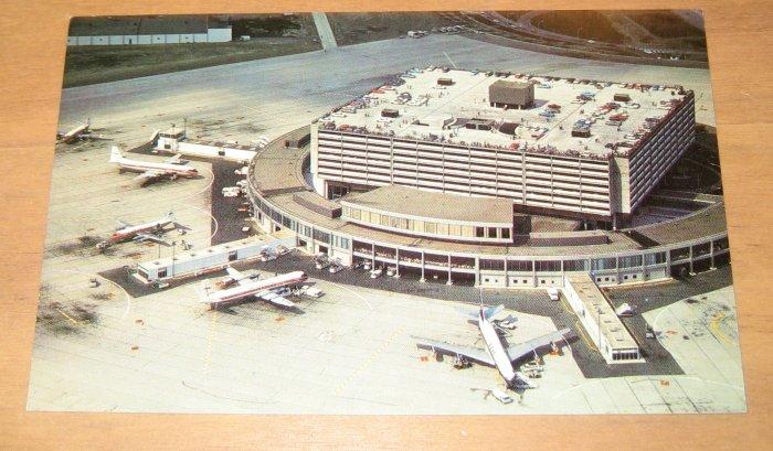 Vintage Toronto International Airport Postcard