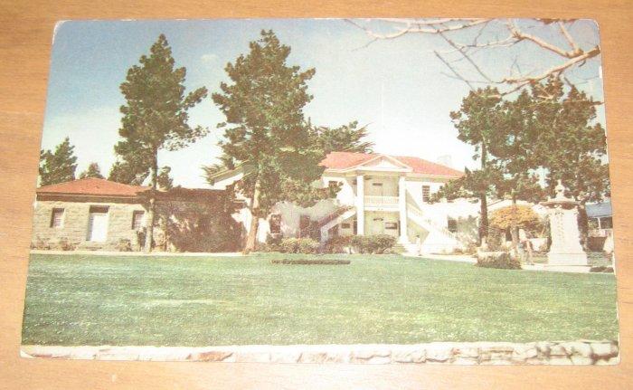 Vintage Colton Hall Monterey California Postcard