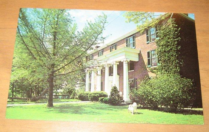 Vintage Beaumont Inn Harrodsburg Kentucky Postcard