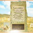 Vintage Sacajawea Grave Near Ft Washakie Wyoming Postcard
