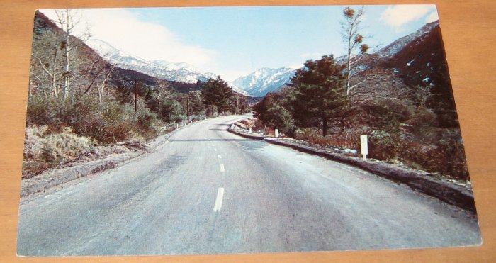 Vintage Mill Creek Canyon Big Bear Lake Area Postcard