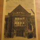 Vintage The Entrance To Johnston Hall Milwaukee Downer College Postcard