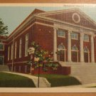 Vintage Immanuel Baptist Church Paducah Kentucky Postcard