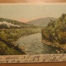 Vintage Deerfield River Near Shelburne Junction Mass Postcard