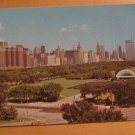 Vintage Chicago Illinois Looking North At Downtown Skyline Postcard