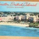 Vintage Sheraton British Colonial Nassau Bahamas Postcard