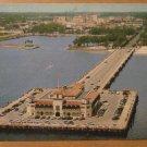 Vintage Air View Million Dollar Pier St Petersburg FL Postcard