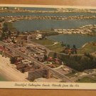 Vintage Beautiful Redington Beach Florida From The Air Postcard