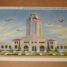 Vintage Administration Building Randolph Field San Antonio Texas Postcard