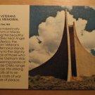 Vintage DAV Vietnam Veterans National Memorial Postcard