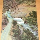 Vintage Aerial View Showing Entrance To Big Thompson Canyon Postcard