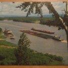 Vintage Mighty Mississippi Postcard