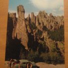 Vintage Cathedral Spires Along Needles Highway South Dakota Postcard