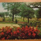 Vintage Hillside Gardens Overlooking Grenadier Pond Canada Postcard