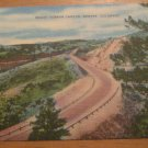 Vintage Mount Vernon Canyon Denver Colorado Postcard