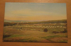 Vintage Cantonment Presidio Of San Francisco CA Postcard