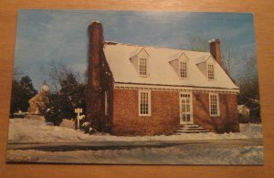 Vintage Somerwell House Yorktown Virginia Postcard