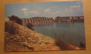 Vintage Fort Loudon Dam Knoxville Tennessee Postcard
