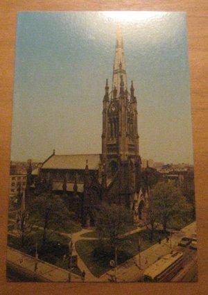 Vintage St James Cathedral Toronto Canada Postcard