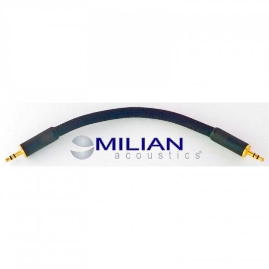 Milian Acoustics 6 Inch 3.5mm Mini Plug OFC Headphone Amplifier Interconnect Cable