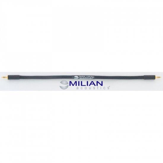 Milian Acoustics 1 ft 3.5mm Mini Plug OFC Headphone Amplifier Interconnect Cable
