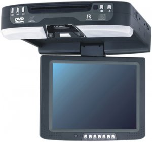 10.4 inch roof mounted car monitor with DVD