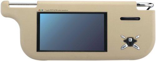 7 inch sun visor TFT-LCD monitor