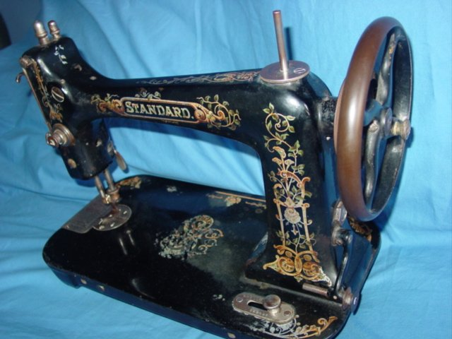 Antique Standard Co Rotary Sewing Machine Circa 40 Delectable Standard Sewing Machine