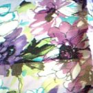 Purple Flower Scarf