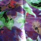 Purple, Green, Pink Florak Scarf