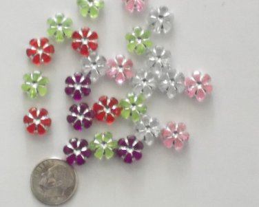 50 Colored Flowers - Sold