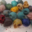 Skulls Imitation Howlite - Last of my Stock