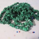 """Malachite Mini Chips (Imitation) - 36"""" Strand"""