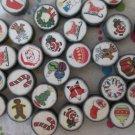 Mixed Christmas Beads - 30 Beads
