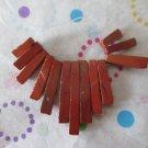 Red Jasper Mini Fan Focal