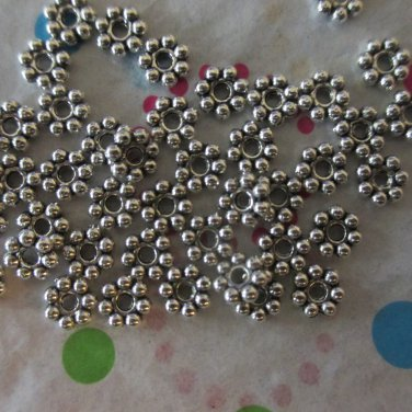 Daisy Rondelle Spacers - 100