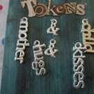 Mother & Child and Hugs & Kisses Charms - Set of 6
