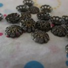 Copper Tone Beads Caps - Set of 50