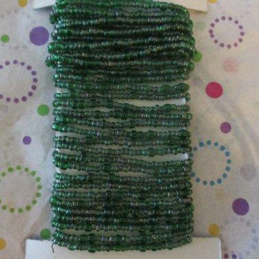 Green Beaded Wire - 15 Feet