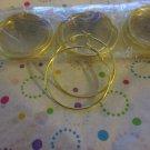 12 Pairs Gold Hoop Pierced Earring