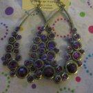 Purple Bubble Earrings