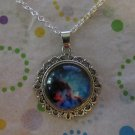 Blue and Purple Cloud Necklace