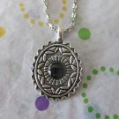 Black and Silver Fashion Necklace