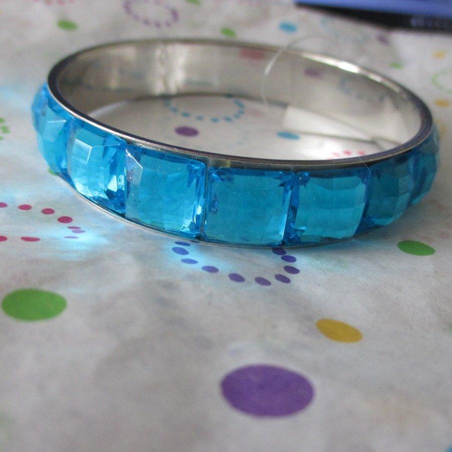 Blue Jeweled Bracelet